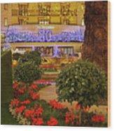 Dorchester Hotel London At Christmas Wood Print
