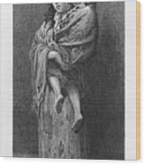 Dore: Homeless, C1869 Wood Print by Granger