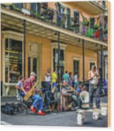 Doreen's Jazz New Orleans 2 Wood Print