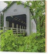 Dorena Bridge Wood Print