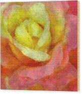 Dorie's Rose Wood Print