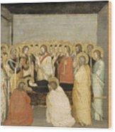 Dormition Of The Virgin Wood Print