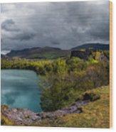 Dorothea Quarry Panorama Wood Print