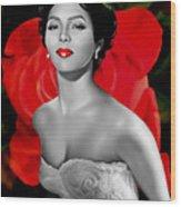 Dorothy Dandridge Wood Print