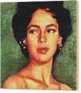 Dorothy Dandridge, Vintage Hollywood Legend Wood Print