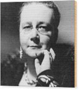Dorothy L Sayers Wood Print