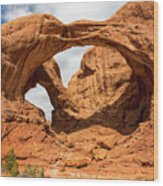 Double Arch - Arches National Park Utah Wood Print