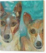 Double Bazinga Wood Print