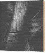 Double Knot Windsor Neck Tie  Wood Print