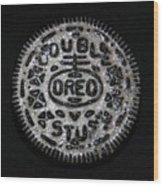 Double Stuff Oreo Wood Print