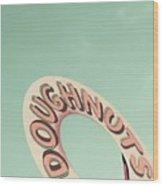 Doughnuts Wood Print