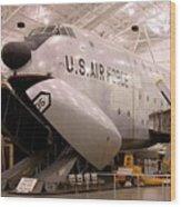 Douglas C 124c Globemaster Plane Wood Print