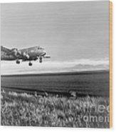 Douglas C-54 Skymaster, 1940s Wood Print