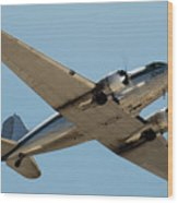 Douglas Dc-3 Rose At Hawthorne Wood Print