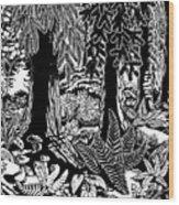 Douglas In Formal Wear Wood Print