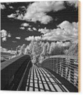 Dover Slough Bridge 1 Wood Print