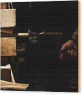 Dowel Pointer Wood Print