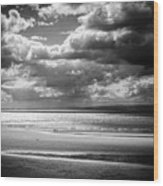 Down By The Sea Wood Print