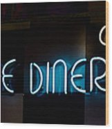 Down Home Diner  Wood Print