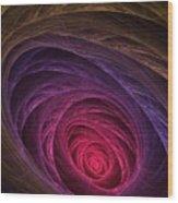 Down The Rabbit Hole Wood Print