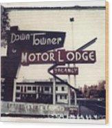 Down Towner Wood Print