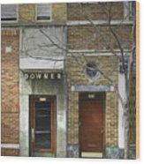 Downer Wood Print