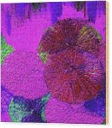 Downpour 3 Wood Print