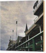 Downs Stadium Wood Print