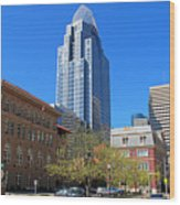 Downtown Cincinnati  4188 Wood Print
