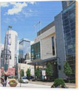 Downtown Denver Wood Print