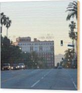 Downtown Los Angeles 0686 Wood Print