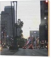 Downtown Los Angeles 0698 Wood Print