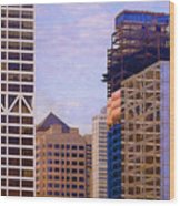 Downtown Milwaukee - 2 Wood Print