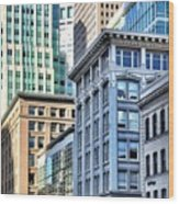 Downtown San Francisco Wood Print by Julie Gebhardt