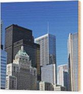 Downtown Toronto Wood Print