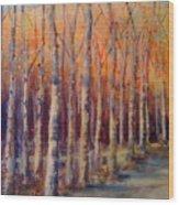 Dowry Trees Wood Print
