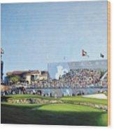 Dp World Tour Championship 2015 - Open Edition Wood Print