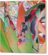 Abstracted Leaf Patterns #1  Ref. Dp67  Wood Print