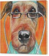 Dr. Dog Wood Print