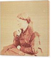 Dr. Elizabeth Blackwell 1821-1910 Wood Print by Everett