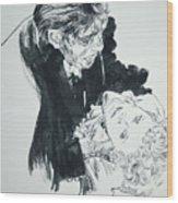 Dr. Jekyll As Mr. Hyde Wood Print