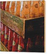 Dr. Pepper Bottles Wood Print