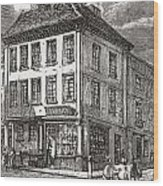 Dr. Samuel Johnson S Birthplace In Wood Print