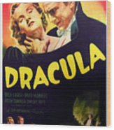 Dracula, Top From Left Helen Chandler Wood Print by Everett