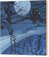 Dracula's Castle Wood Print