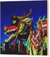 Dragon 3 Wood Print