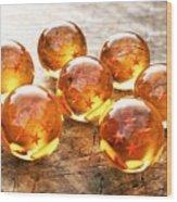 Dragon Balls Wood Print