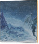 Dragon Born. Wood Print