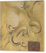 Dragon Double Happiness Wood Print
