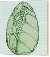 Dragon Egg Wood Print